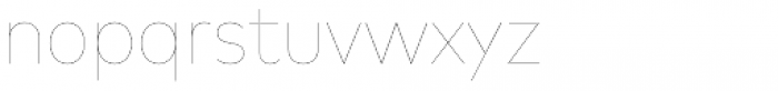 FF Mark Pro Narrow Hairline Font LOWERCASE