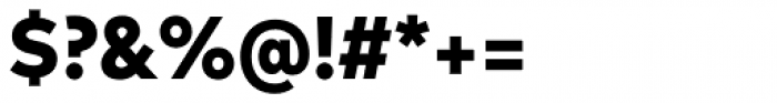 FF Mark Pro Narrow Heavy Font OTHER CHARS