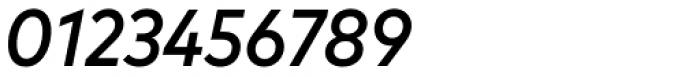 FF Mark Pro Narrow Medium Italic Font OTHER CHARS