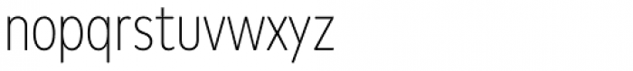 FF Mark W1G Condensed Extra Light Font LOWERCASE
