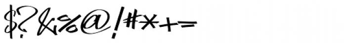 FF Marker OT Skinny Font OTHER CHARS