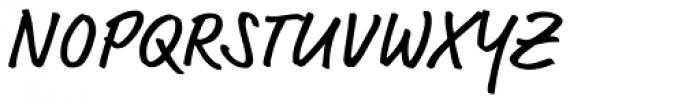 FF Market OT Regular Font UPPERCASE