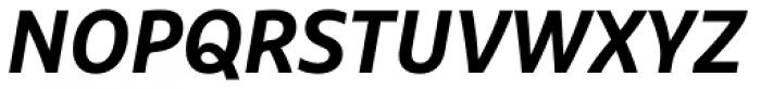 FF Marselis Pro Bold Italic Font UPPERCASE