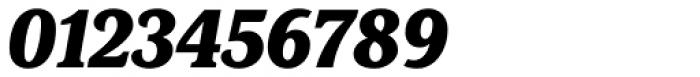 FF Marselis Serif Black Italic Font OTHER CHARS