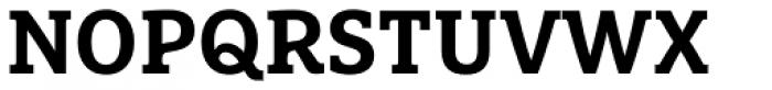 FF Marselis Slab Pro Bold Font UPPERCASE