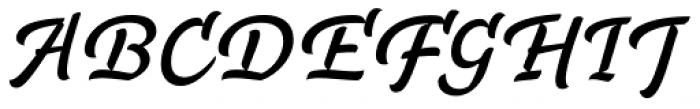 FF Masala Script OT Font UPPERCASE