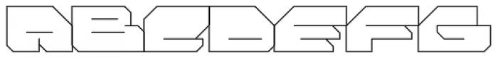 FF Massive 1 Line OT Font UPPERCASE