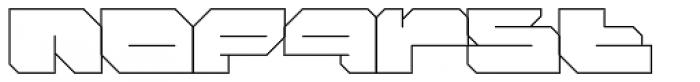FF Massive 1 Line OT Font LOWERCASE