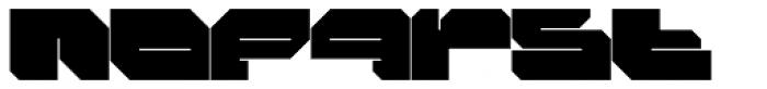 FF Massive 1 Solid OT Font LOWERCASE