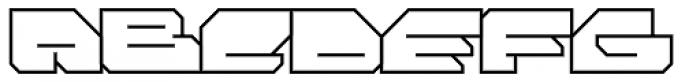 FF Massive 2 Line OT Font UPPERCASE