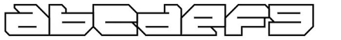 FF Massive 2 Line OT Font LOWERCASE