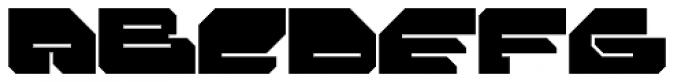 FF Massive 2 Solid OT Font UPPERCASE