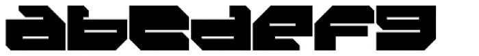 FF Massive 2 Solid OT Font LOWERCASE