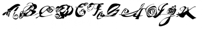 FF Masterpiece Allegro Font UPPERCASE