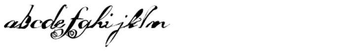 FF Masterpiece Allegro Font LOWERCASE