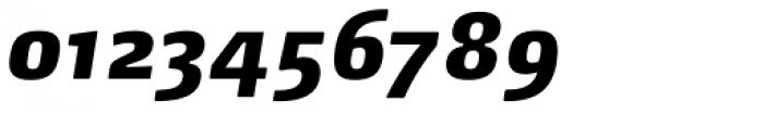 FF Max Demi Serif Pro Black Italic Font OTHER CHARS