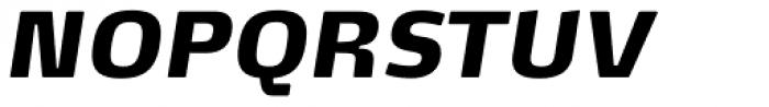 FF Max Demi Serif Pro Black Italic Font UPPERCASE