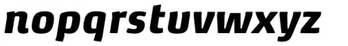 FF Max Demi Serif Pro Black Italic Font LOWERCASE