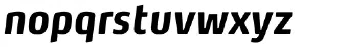 FF Max OT Cond Bold Italic Font LOWERCASE