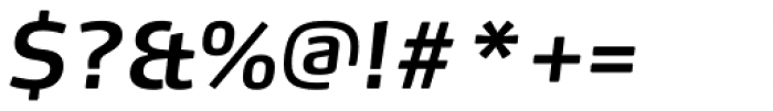 FF Max OT DemiBold Italic Font OTHER CHARS