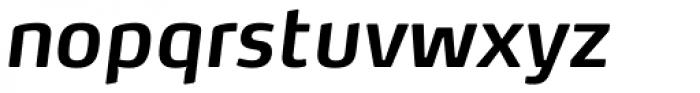 FF Max OT DemiBold Italic Font LOWERCASE
