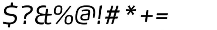 FF Max OT Light Italic Font OTHER CHARS