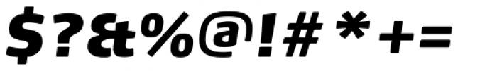 FF Max Pro Fat Italic Font OTHER CHARS