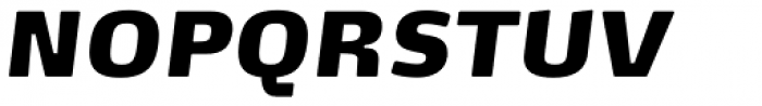 FF Max Pro Fat Italic Font UPPERCASE