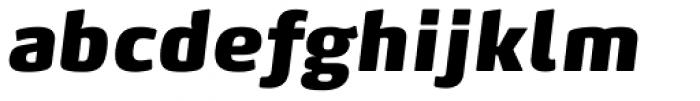 FF Max Pro Fat Italic Font LOWERCASE