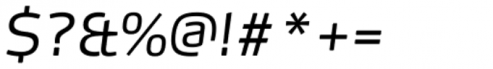 FF Max Pro Light Italic Font OTHER CHARS