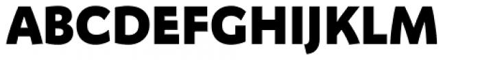 FF Megano Pro Black SC Font UPPERCASE