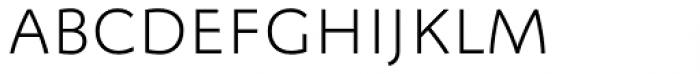 FF Megano Pro Light SC Font LOWERCASE