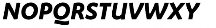 FF Megano Std Bold Italic SC Font UPPERCASE