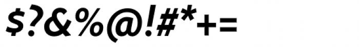 FF Megano Std Demi Bold Italic SC Font OTHER CHARS