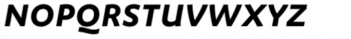 FF Megano Std Demi Bold Italic SC Font LOWERCASE