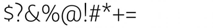 FF Megano Std Light SC Font OTHER CHARS