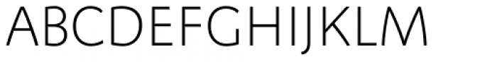 FF Megano Std Light SC Font UPPERCASE