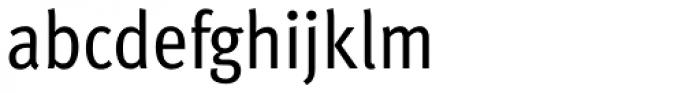 FF Meta Cond OT Book Font LOWERCASE