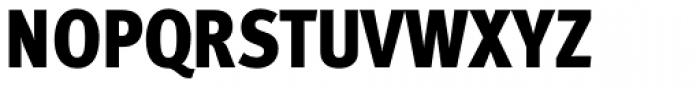 FF Meta Cond Pro Black Font UPPERCASE