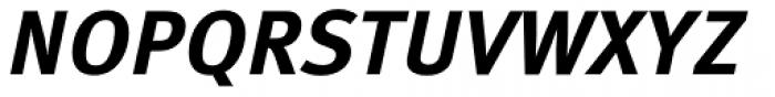 FF Meta Correspondence Pro Bold Italic Font UPPERCASE
