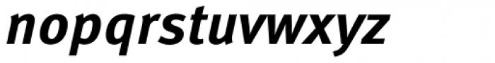 FF Meta Correspondence Pro Bold Italic Font LOWERCASE