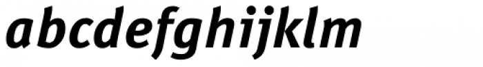 FF Meta Correspondence Std Bold Italic Font LOWERCASE