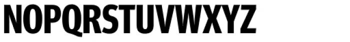 FF Meta Headline OT Compressed Bold Font UPPERCASE