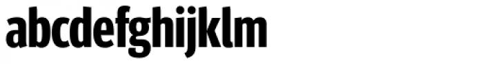 FF Meta Headline OT Compressed Bold Font LOWERCASE