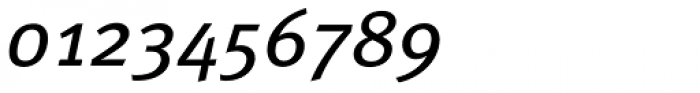 FF Meta OT Book Italic Font OTHER CHARS