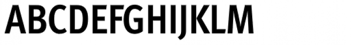 FF Meta Pro Condensed Bold Font UPPERCASE