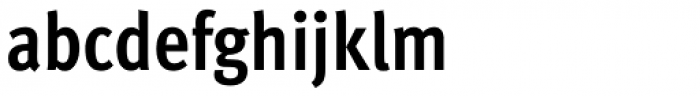 FF Meta Pro Condensed Bold Font LOWERCASE
