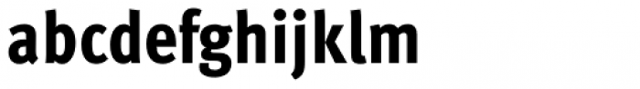 FF Meta Pro Condensed Extrabold Font LOWERCASE