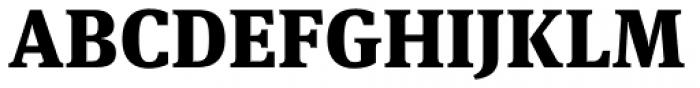 FF Meta Serif OT Black Font UPPERCASE