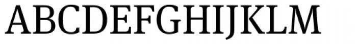 FF Meta Serif OT Book Font UPPERCASE